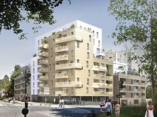 Programme immobilier neuf Le Flore sur 35000 Rennes
