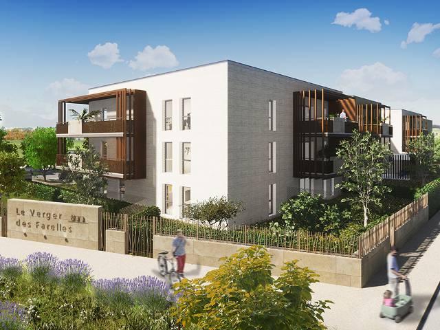 Programme immobilier neuf Le Verger Des Farelles sur 30128 Garons