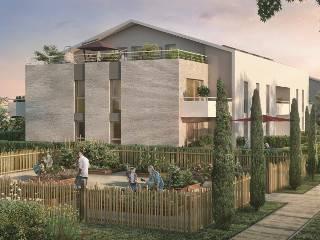 Programme immobilier neuf Les Cedres Bleus sur 31100 Toulouse
