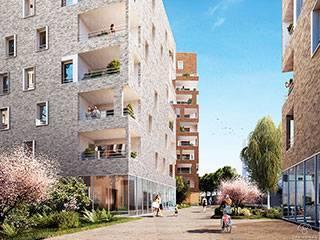 Programme immobilier neuf Nouvel Opus Urbain sur 69100 Villeurbanne