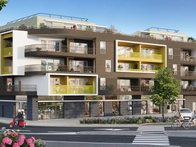 Programme immobilier neuf L Eden sur 34170 Castelnau Le Lez