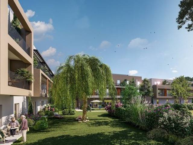 Programme immobilier neuf Residence O Natura sur 84110 Vaison La Romaine