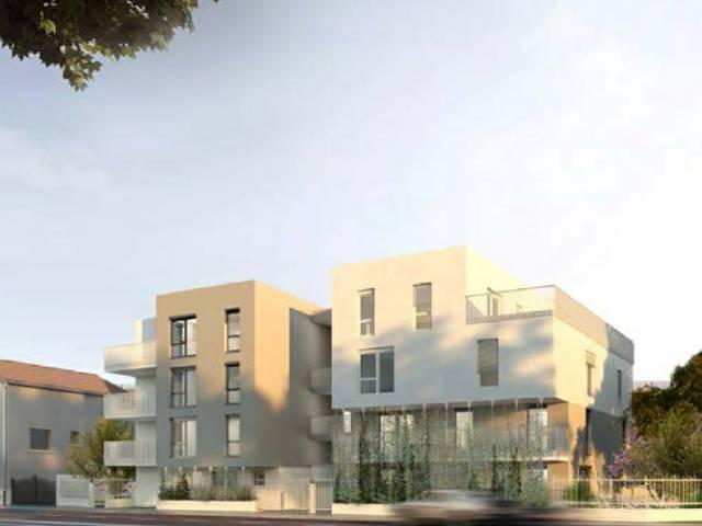 Programme immobilier neuf Les Tilleuls sur 69100 Villeurbanne