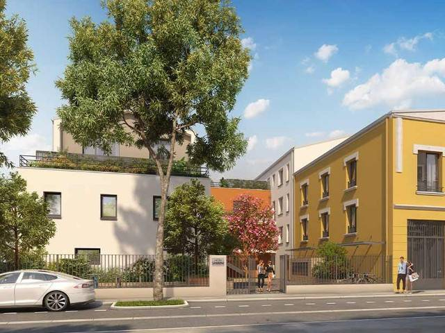 Programme immobilier neuf L Atelier Delle sur 69100 Villeurbanne