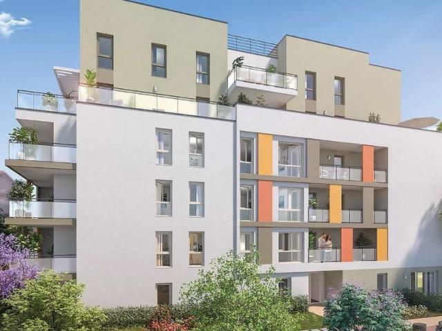 Programme immobilier neuf Coeur Balzac sur 69100 Villeurbanne